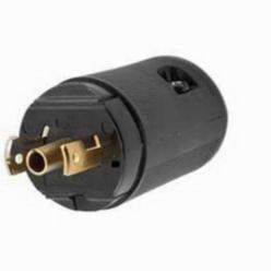 Hubbell Wiring Device-Kellems LKG PLUG, MIDGET 15A 125V, ML-2P