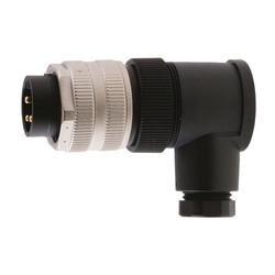 HUBW HPMA03F9 MINI-QUICK FIELD ATT MALE R/A 3P F9