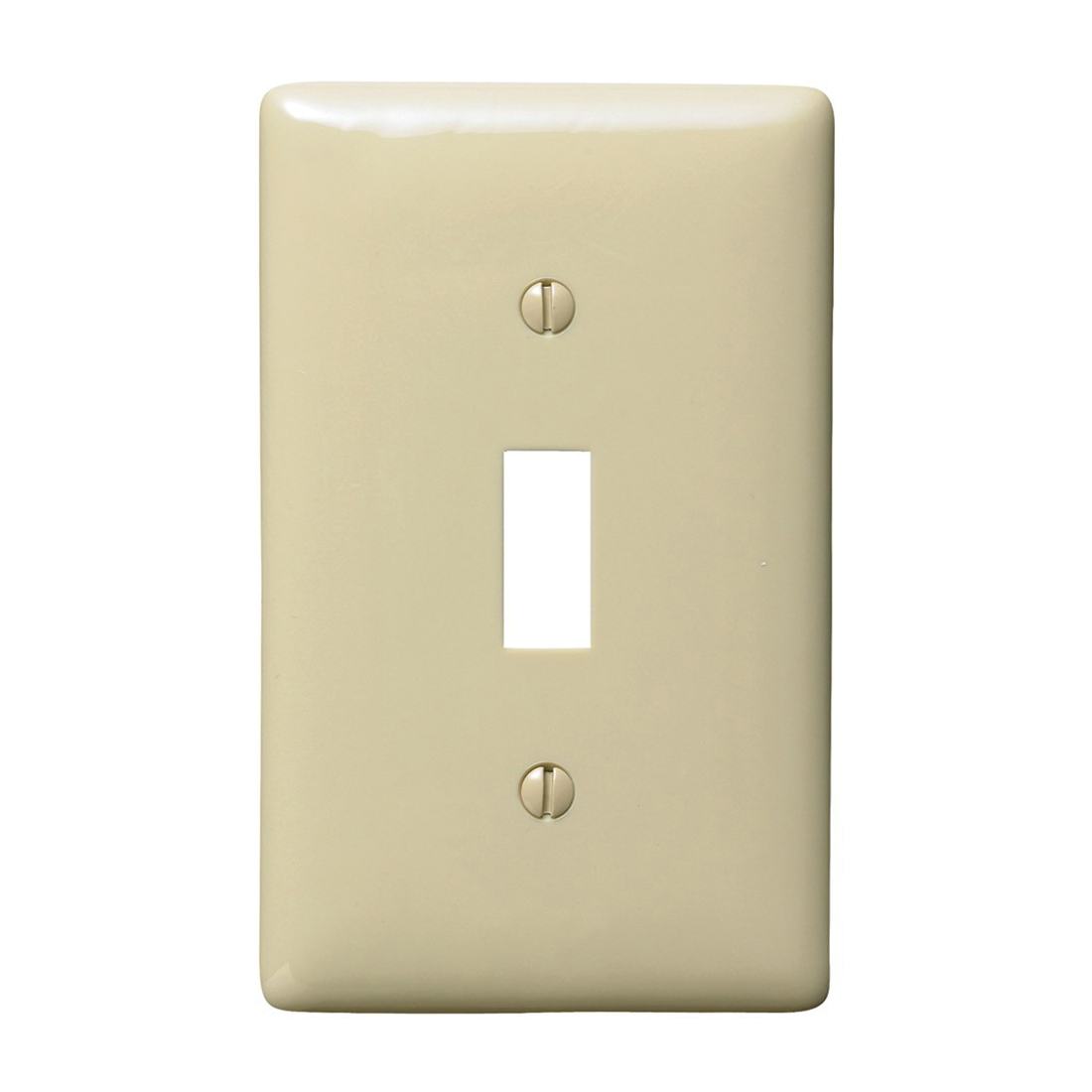 Wiring Device-Kellems NP1I Standard Wallplate, 1 Gang, 4.63 in H x ...