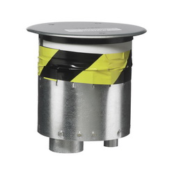 Hubbell Wiring Device-Kellems S1R FRPT 6 THRU FLOOR NO SUBPLATE, NO JB